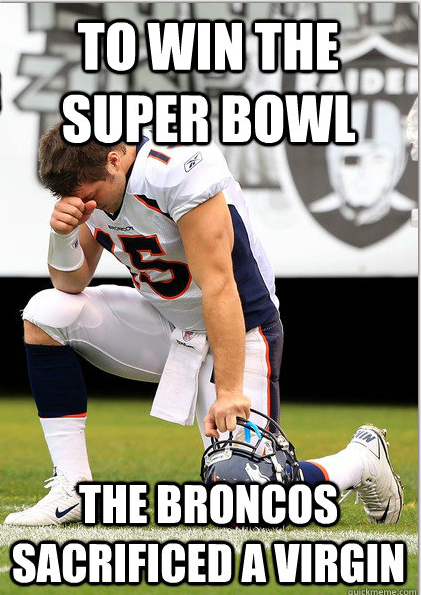Tebow Super Bowl