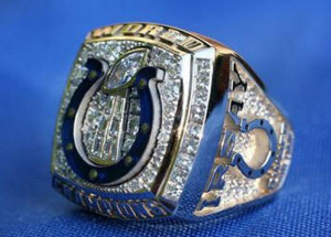 colts super bowl ring